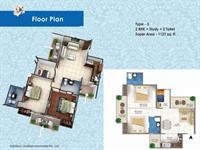2 BHK -  1121 Sq. Ft.