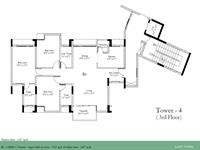 3 BHK - 1765 sq ft
