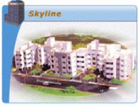 2 Bedroom Flat for rent in B.U. Bhandari Skyline, Wakad, Pune