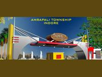 Land for sale in Amrapali Modern City, Rau Pitampur Road area, Indore
