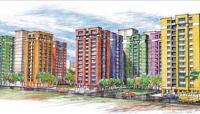 2 Bedroom Flat for sale in NBCC Vibgyor Towers, Rajarhat, Kolkata