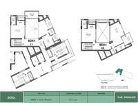 3 BHK Study Duplex -3125 sq ft