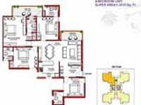 4BHK Floor Plan