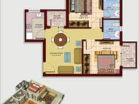 2 BHK + 2T Area
