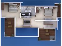 2BHK Floor Plan A