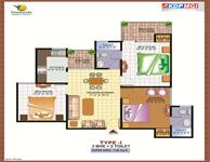 Type I (3BHK + 2Toilet)