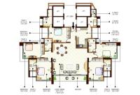 5BHK Floor Plan