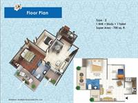 1 BHK - 700 Sq. Ft.