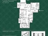 3BR+3T Floor Plan