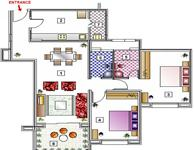 2BR Floor Plan