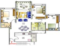 3BR Floor Plan