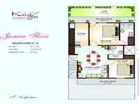 Jasmine Floor Plan 915 Sq Ft
