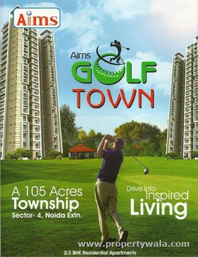 AIMS Golf Town - Noida Extension, Greater Noida
