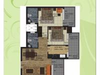 1100 sq.ft. Floor Plan