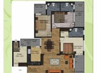 1800 sq.ft. Floor Plan