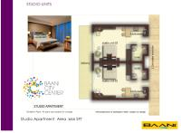 Service Apartments Floor Plan