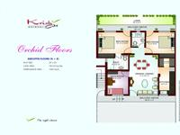 Orchid Floor Plan 1265 Sq Ft