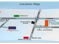 2 Bedroom Flat for sale in Omega Paradise, Wakad, Pune