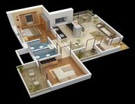 EvenFloor Plan