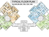 Typical Even Floor Plan