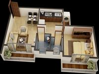 1BHK - Isolates View - B