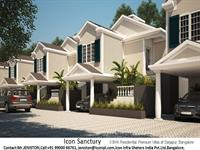 3 Bedroom House for sale in Icon Sanctuary, Sarjapur Road area, Bangalore