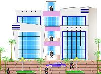 3 BHK top floor With Roof at only Rs. 18 Lakh.