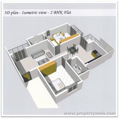 3d Floor Plan Isometric: Vardhini And Madku D Homes