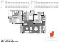 1794 Sq.ft (166.66 Sq.mt)