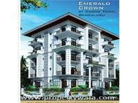2 Bedroom Flat for sale in Emerald Crown, Cooke Town, Bangalore