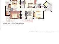 Block-A 3 Unit Floor Plan