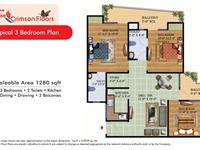 Crimson Floor Plan-B