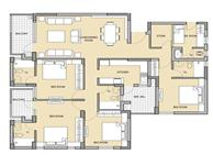 4BHK +SR UNIT PLAN