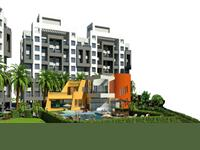 2 Bedroom Flat for sale in Kotle Patil Margosa Heights, Mohamadwadi, Pune
