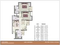 2 BHK - 1050 Sq. Ft.