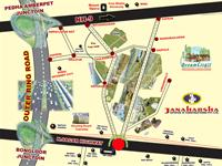 Land for sale in Janaharsha Dream City II, Ramoji Film City, Hyderabad