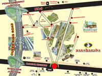 Land for sale in Janaharsha Dream City II, Ramoji Film City, Hyderabad