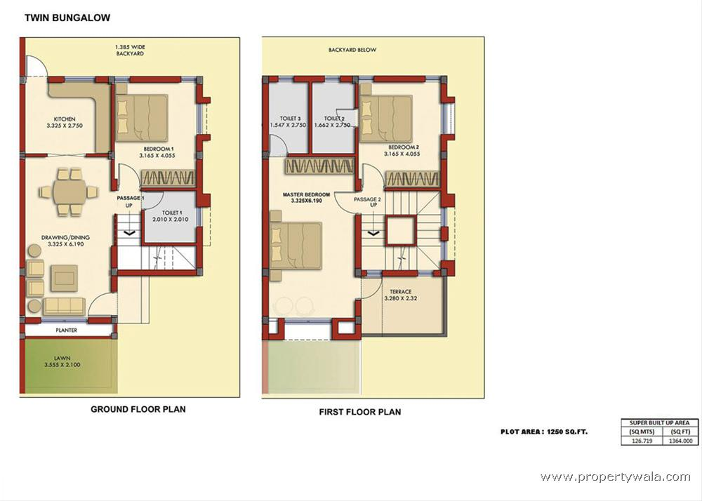 Bungalow House Plans in India find Home plans for bungalow houses