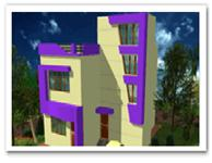 3 Bedroom House for sale in Krishna Garden Annex, Jagamara, Bhubaneswar