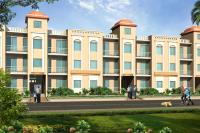 1 BHK Studio Flat at Omaxe Eternity Vrindavan, block- Gopala- 6E No-004, Ground floor,  425 sft,