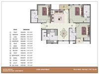 3 BHK - 1450 Sq. Ft.