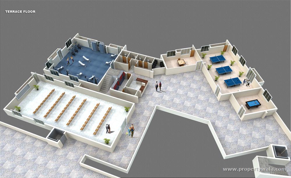 Office Floor Plan Layout 3d 3d Layout Floor Plan