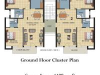 Ground Floor Cluster Plan