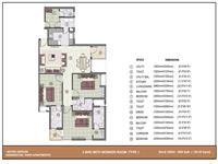 3 BHK - 1500 Sq. Ft.