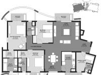 3BHK(South Wing)