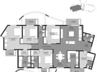 4BHK(South Wing)