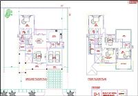 Villa Type-D1 Floor Plan