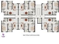 Floor Plan Six Core