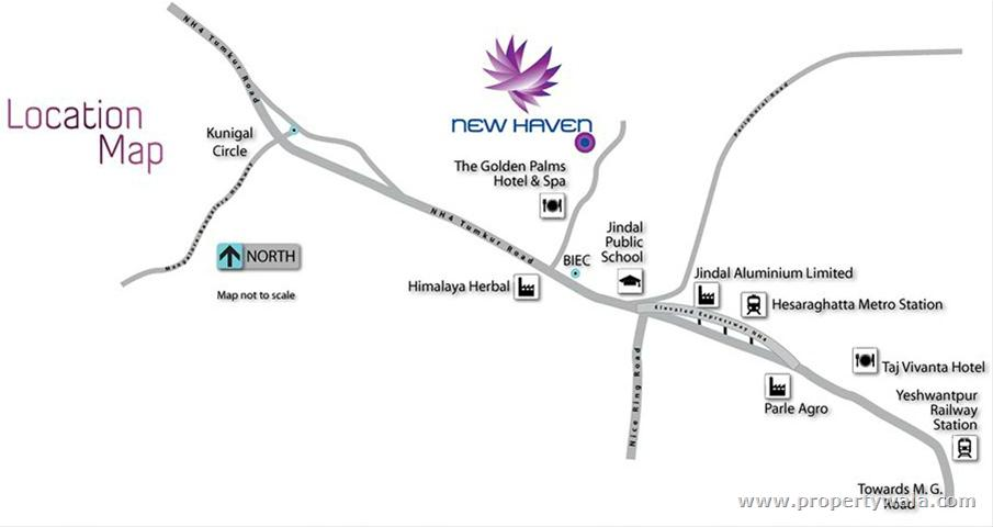 tata new haven - tumkur road  bangalore