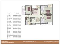 3 BHK - 1525 Sq. Ft.